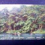 1910 Canoeing on Deal Lake Asbury